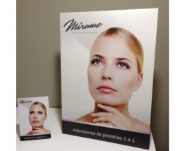 Display A4 Mírame Lashes & Brows